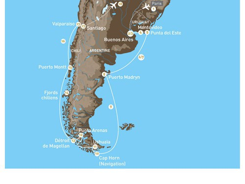 Croisi 232 Re Patagonie Amp Terre De Feu 2017 Voyage Francophone