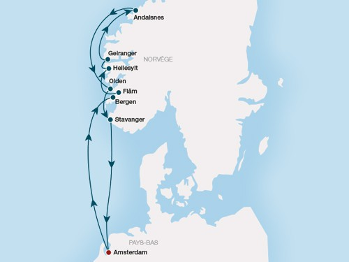 croisiere fjord costa