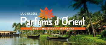En 2017, nous vous proposons une croisière fascinante à travers l'Inde, les Maldives et le Sri Lanka. Monuments religieux, végétation luxuriante...