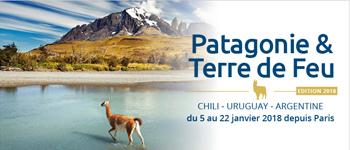Nouvelle aventure, nouvelle croisière en Patagonie. En 2018, découvrez la somptuosité de cette région aux multiples glaciers et aux terres sauvages.