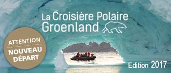 Une croisière expédition au Groenland à la rencontre des ours polaires et des inuits, du 25 août au 8 septembre 2017. Des instants rares en perspective…