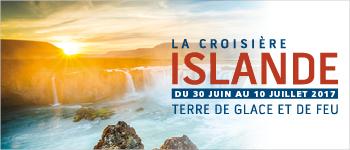 Une croisière en Islande est toujours une aventure palpitante (glaciers, volcans, vikings…) ; une rencontre époustouflante avec la nature et l'Histoire !