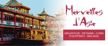 Singapour, Vietnam, Chine, Philippines, Malaisie : L'édition 2017 de la Croisière Merveilles d'Asie part aussi de Genève.