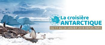 En 2018, partez en croisière expédition sur les terres, mers et glaces de l'Antarctique. Accompagnement francophone pour une destination exceptionnelle.