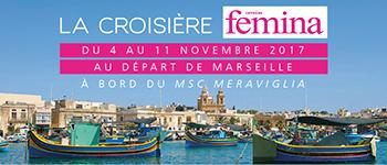 Avec Marcel Rufo, partez pour la 2e édition de la Croisière Version Femina. La thématique ? Le parcours de la vie… sur le plus beau des itinéraires !