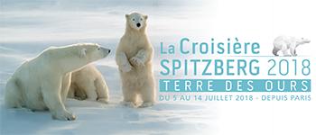 Sur le brise-glace l'Ortélius et au départ de Paris, partez pour l'édition 2018 de la croisière Spitzberg Terre des ours.