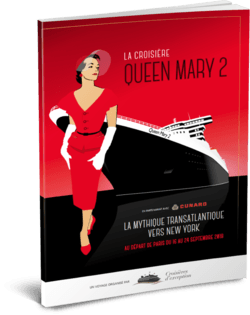 Brochure La Transatlantique sur le Queen Mary 2 3D