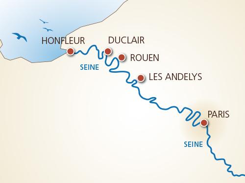Itinéraire de Des racines et des ailes - Suisse