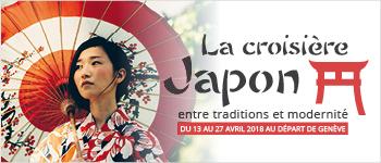 En avril 2018, le Celebrity Millennium démarrera une croisière au Japon. Au programme : conférences, excursions de prestige et départ depuis Genève.