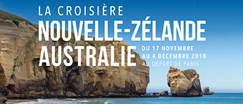 Partez au cœur d'une nature néo-zélandaise époustouflante mais aussi à travers des villes mythiques : Sydney, Wellington, Auckland...