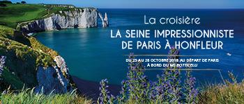 Paris, Rouen, Honfleur... Partez à la découverte des richesses artistiques de la Seine en compagnie d'un conférencier passionné.