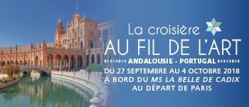 Succombez aux charmes du fleuve Guadalquivir (Espagne) en compagnie d'intervenants lors de votre croisière Au Fil de l'Art…
