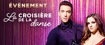 Animations, cours de danse, spectacles... embarquez pour la croisière de la Danse avec Maxime Dereymez et ses danseurs !