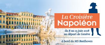 David Chanteranne, Jean Tulard, Jacques Garnier… retrouvez les plus grands spécialistes de Napoléon au cours d'une croisière éponyme sur le Danube.
