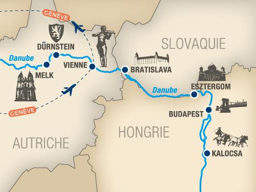 Itinéraire de Napoléon (Départ Genève)