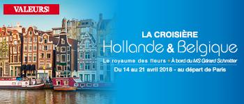 En compagnie d'André Bercoff et d'Alain Baraton, partez en Hollande pour une croisière signée Valeurs Actuelles et Croisières d'exception.