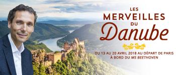 Découvrez les plus belles villes qui bordent le Danube en compagnie de Laurent Gounelle, écrivain spécialiste en développement personnel.