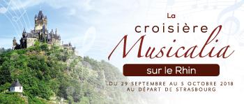 En 2018, Croisières d'exception vous propose un voyage musical sur le fleuve Roi, celui qui inspira de nombreux poètes et musiciens : le Rhin.