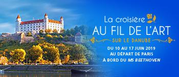 Un voyage événement sur le thème de l'art pour découvrir les merveilles autour du Danube (Vienne, Budapest, Bratislava…) à bord du MS Beethoven.