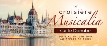 Sillonnez le Danube lors croisière musicale au coeur de l'Europe avec Frédéric Lodéon, Adriana Gonzales, Sophie L. Wallez…