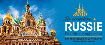 Cette croisière en Russie est maintenant terminée - découvrez nos nouveaux départs !