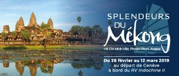 Temples d'Angkor, somptueux palais, marchés flottants... Cap sur la Croisière Mékong 2019 à bord du RV Indochine II.