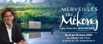 En 2019, partez pour une magnifique croisière au Vietnam et au Cambodge en compagnie de Luc Ferry.