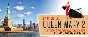 Cette croisière à bord du Queen Mary 2 est terminée - découvrez nos autres départs en 2020