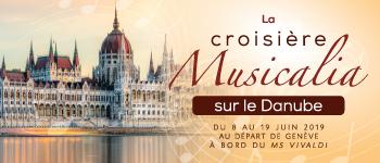 Frédéric Lodéon et ses invités vous convient à un festival musical à travers Vienne, Budapest, Belgrade, Bucarest... Départ de Genève en juin 2019.