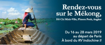 Découvrez le Cambodge et le Vietnam en compagnie de Régis Le Sommier, Directeur adjoint de Paris Match. Accompagnement francophone et conférences sont au programme.