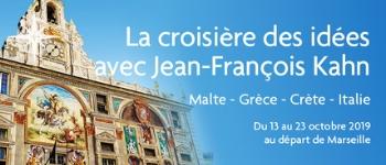 Embarquez aux côtés de Jean-François Kahn à la découverte de villes chargées d'histoire : Rome, Malte, Athènes...
