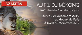 Et si vous découvriez le célèbre fleuve Mékong en compagnie d'accompagnants francophones ?