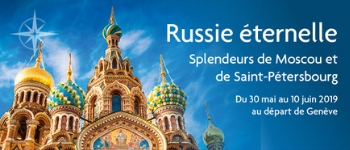 Naviguez en Russie sur la Volga et la Neva en compagnie de notre prestigieux invité et conférencier Jean-François Kahn.  Un parcours autant magnifique que passionnant…