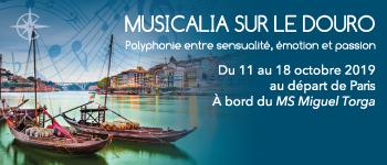 Une croisière musicale sur le fleuve Douro à l'automne 2019 en compagnie de musiciens de renom et de Patrick Poivre d'Arvor.