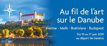 À bord du MS Beethoven, Serge Legat et Benoît Dusart tiendront des conférences au cours d'une croisière passionnante sur le Danube et placé sous le signe de l'Art. Départ depuis Genève…