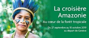 Au cœur de la forêt tropicale, l'Amazon Dream vous fera vivre une croisière de rêve en pleine Amazonie. Un départ depuis Genève avec accompagnement francophone et des conférences animées par une géographe, photographe et naturaliste