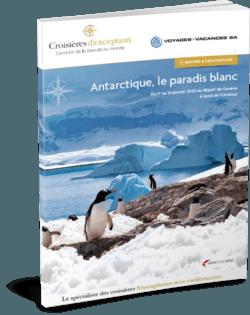 Antarctique, le paradis blanc (départ Genève)