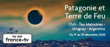 Profitez d'une vue imprenable depuis le pont de votre navire pour assister à l'éclipse solaire de décembre 2020 et découvrez les beautés de la Patagonie