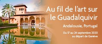 Embarquez pour la croisière au fil de l'art sur le Guadalquivir et découvrez l'Andalousie et le Portugal. Au départ de Genève