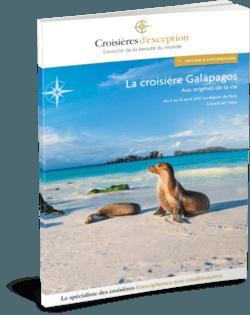 La croisière Galápagos, aux origines de la vie