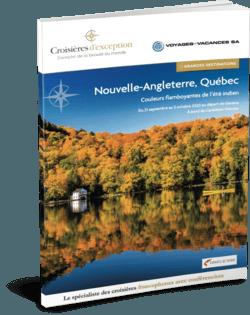 Nouvelle-Angleterre, Québec (Départ Genève)