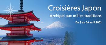Direction le Japon, à bord du Celebrity Millenium, profitez à bord de conférences passionnantes et d'une équipe francophone