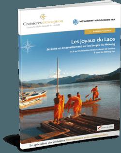 Les joyaux du Laos (départ Genève)