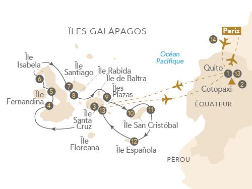 Itinéraire de Croisière Galápagos | Aux origines de la vie