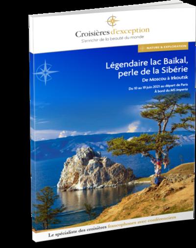 Brochure Légendaire lac Baïkal, la perle de la Sibérie 3D