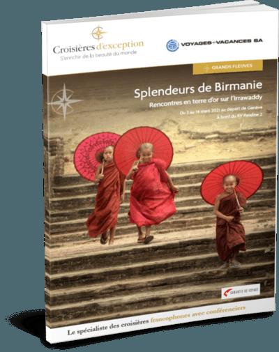 Splendeurs de Birmanie, rencontres en terre d'or sur l'Irrawaddy | Départ de Genève