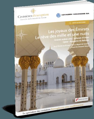 Les joyaux des Émirats, le rêve des mille et une nuits | Départ de Genève