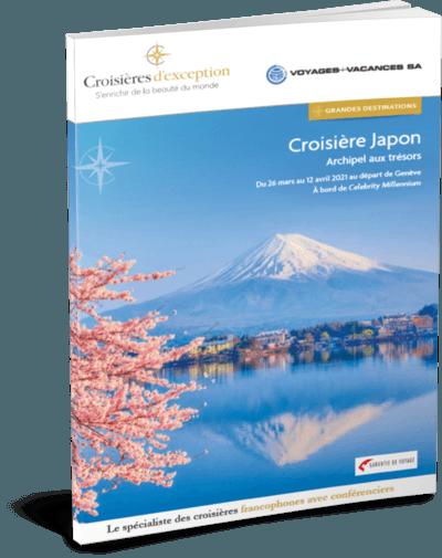 Croisière Japon l'archipel aux trésors | Départ de Genève