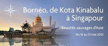 Les beautés insoupçonnées de l'Asie du Sud-Est n'attendent plus que vous lors de cette croisière au Bornéo avec conférenciers et accompagnement francophone