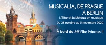 Musicalia, de Prague à Berlin, embarquez sur l'Elbe et la Moldau en musique et profitez d'un plateau artistique exceptionnel